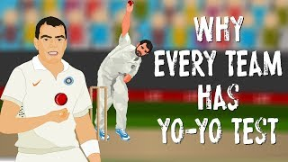 "Why the Indian cricket team has to pass the ""Yo Yo test""."