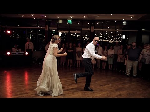 BEST surprise wedding father daughter dance to epic song mashup