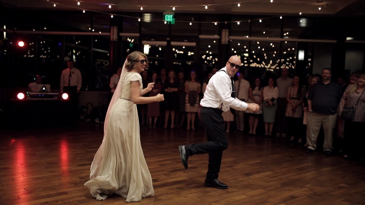 BEST surprise father daughter wedding dance to epic song mashup ...