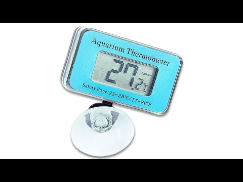 DT-A100 aquarium thermometer, waterproof and Digital LCD Display