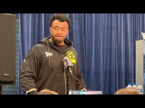 Austin Jackson USC OT Interview At 2020 NFL Combine