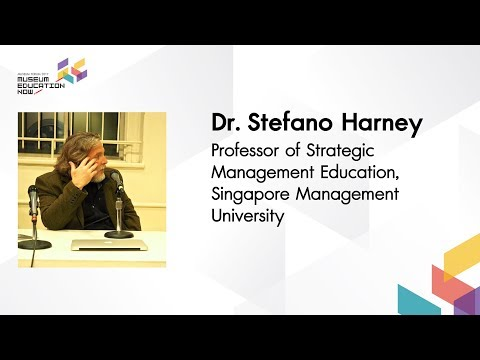 Sense Study - Can the Museum be a Place for Aesthetic Education ? | Dr.Stefano Harney