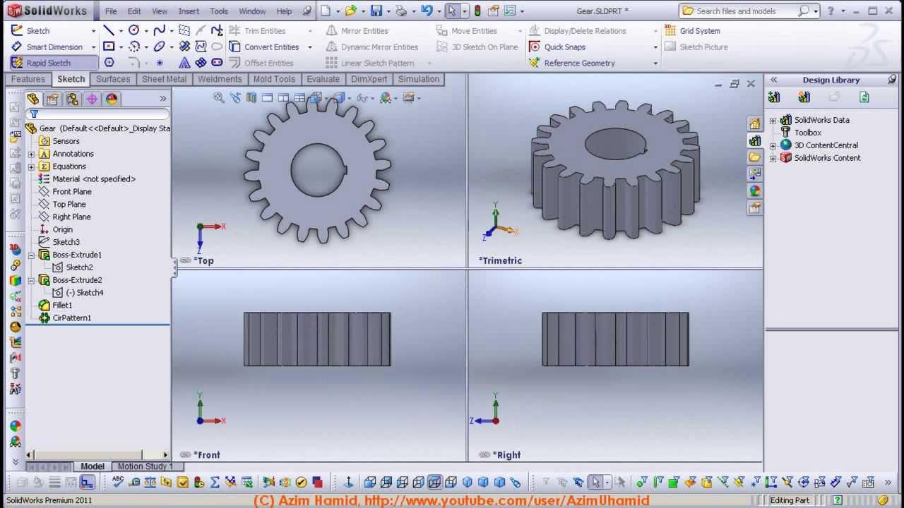 Solidworks software