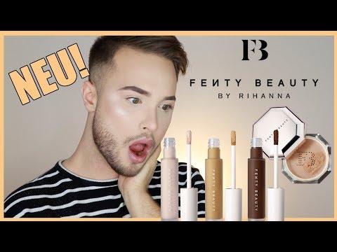 NEU! | Fenty Beauty Concealer und Puder im LIVE TEST! | Maxim Giacomo