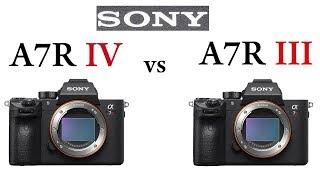 Sony a7R IV vs Sony a7R III