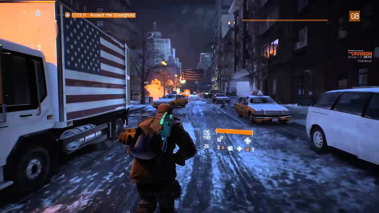 tom clancy's the division beta [pc] 2556x1440 test - youtube