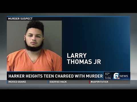 Harker Heights teen charged with murder