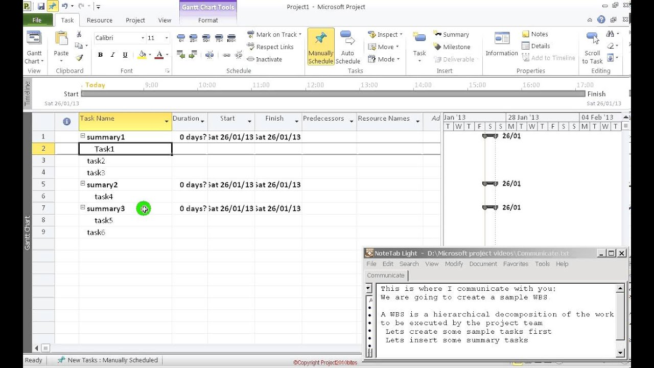 ms project wbs Creating a work breakdown structure in  i am working with a very large project and wbs and it  hi there i have visio 2010 and ms project 2007 once i.
