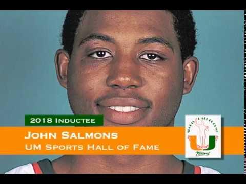 John Salmons - University of Miami Sports Hall of Fame