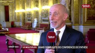 Grand débat : « Tout ça est un profond enfumage » estime Jean-Raymond Hugonet