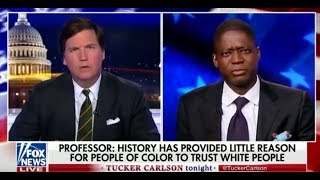 Tucker Carlson Accuses Professor of 'Racism' After NYT Op-Ed