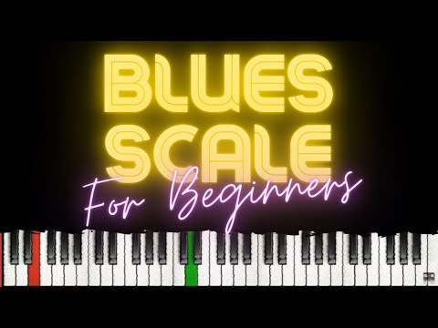 8 Exercises to Practice Blues Scales │Beginner Blues Piano Lessons #1