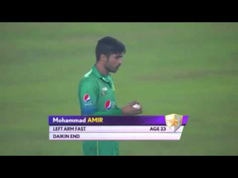 Mohammad Aamir Great Bowling Vs India