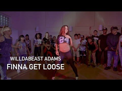 WilldaBEAST Adams | Finna Get Loose | @IAmDiddy | Video by @Brazilinspires #FinnaGetLoose