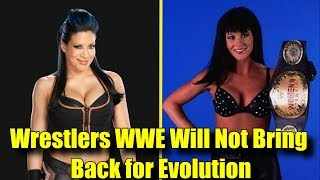 10 Wrestlers WWE WILL NOT BRING BACK for WWE Evolution!  Melina, Stacy Carter & More!