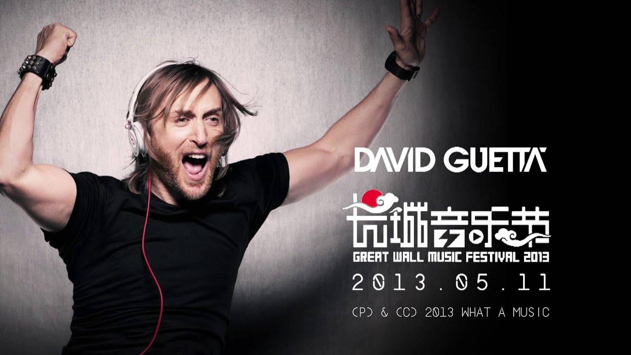 David Guetta - Great Wall Show Documentary 2013