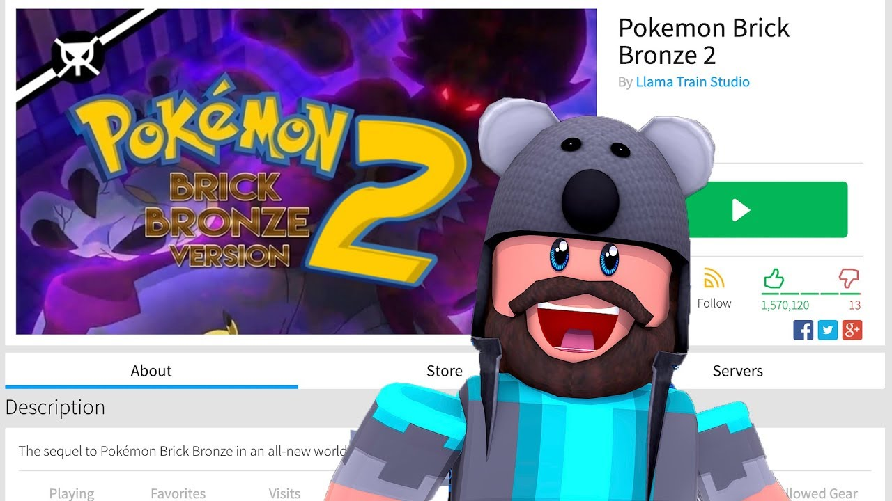 Video Roblox Pokémon Brick Bronze 2 Reaction Thinknoodles Reacts