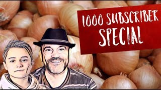 ONION EATING CHALLENGE | THE 1000 SUBSCRIBER SPECIAL