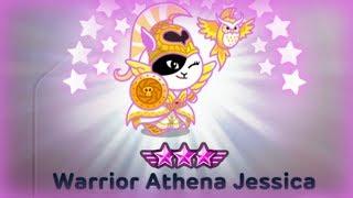 [ LINE Rangers ] รีวิว Warrior Athena Jessica