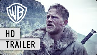 KING ARTHUR: LEGEND OF THE SWORD - OV mit dt. UT Comic-Con Trailer HD (2017)