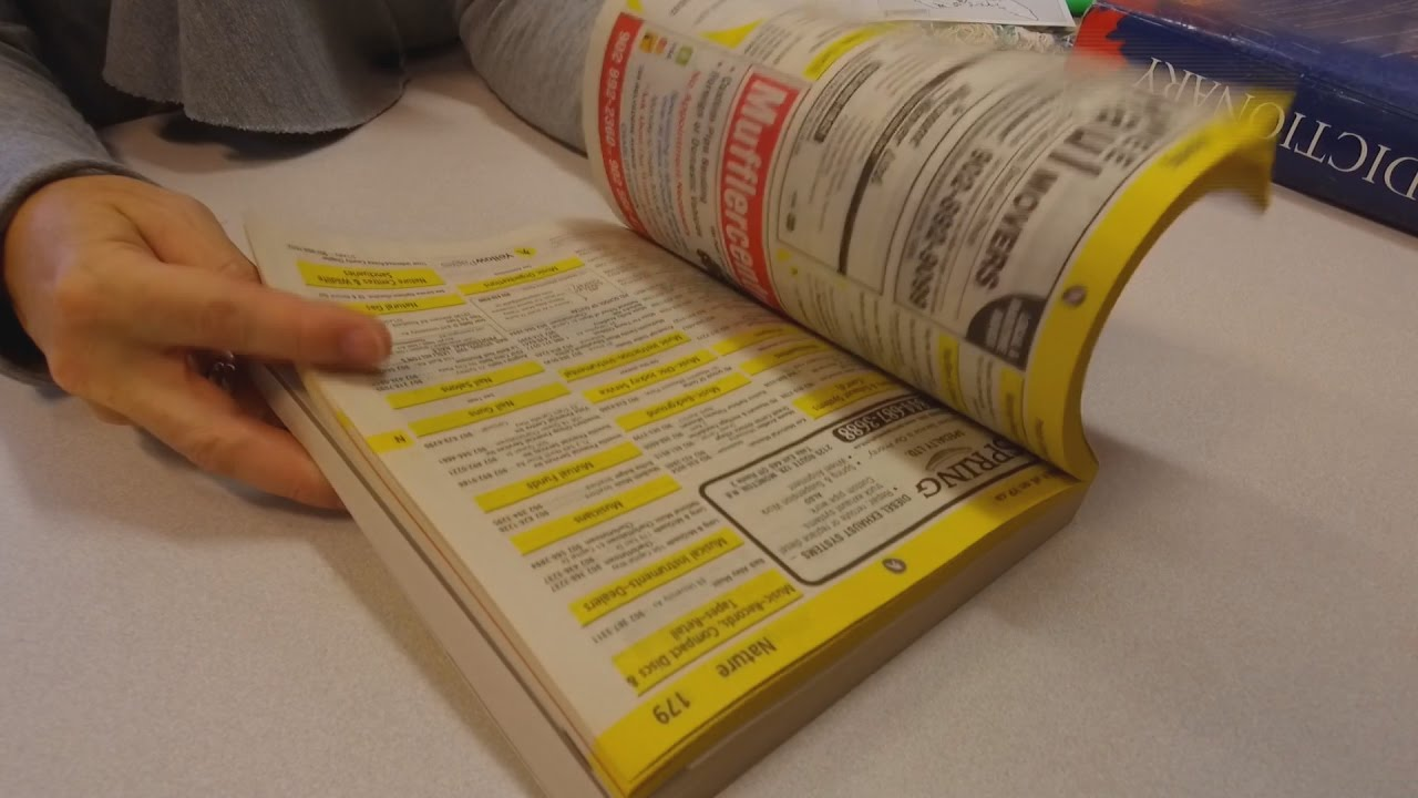 UK Phone Books