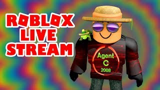 ROBLOX LIVE STREAM - SCHOOL HOLIDAYS - NO SCHOOL - XBOX ONE GAMEPLAY