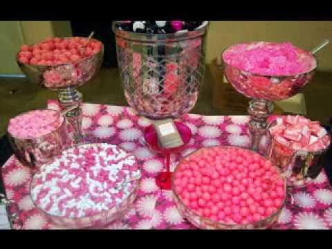 Creative Wedding Candy Table Decor Ideas