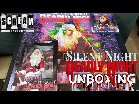 SILENT NIGHT, DEADLY NIGHT Deluxe Limited Edition w/Exclusive Action Figure Unboxing