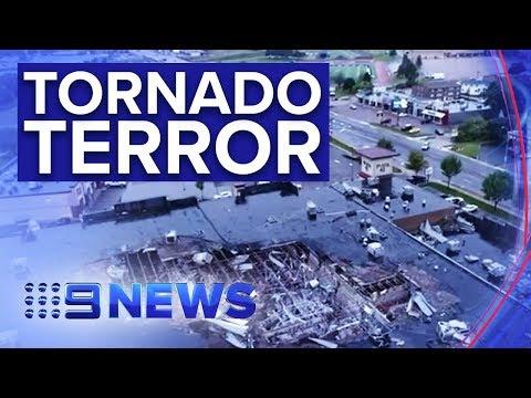 South Dakota battered by tornado, winds hit 160km/h | Nine News Australia