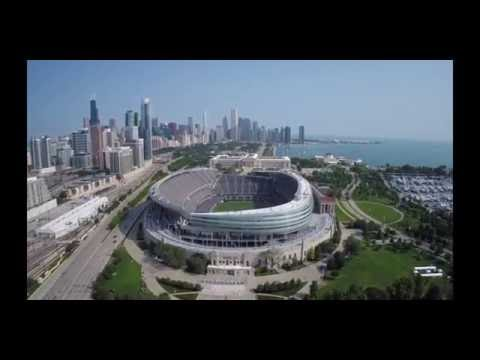 Soldier Field & Museum Campus Chicago Flyover - DJI Phantom 2 with GoPro Hero 3+