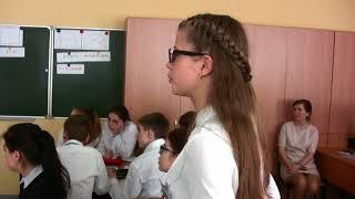Урок геометрии, 9 класс, Гончаренко В. В., конкурс Учитель года-2017, Орловская область