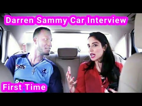 Darren sammy interview with Pakistani girl in a Car 2017.