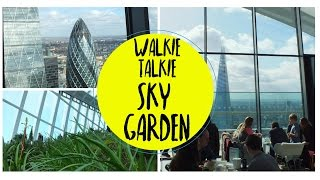 London Newsflash: Walkie Talkie Sky Garden (view Includes The Shard, Tower Bridge, The Gherkin)