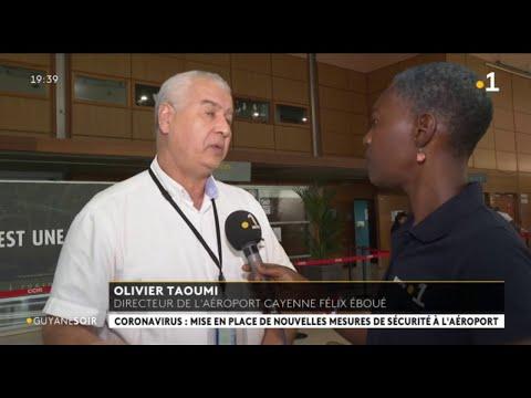 Coronavirus: mise en place de nouvelles mesures de sécurité à l'aéroport