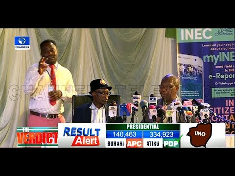 Presidential Election: Atiku Wins Imo State