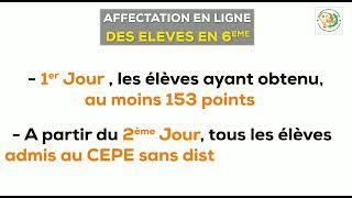 Affectation en 6è  Côte d'Ivoire - Juillet 2021