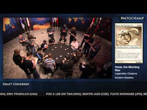 2013 Magic World Championship Modern Masters Drafts