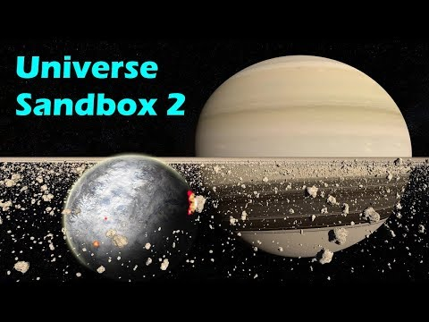 What if a Planet formed in Saturn's Rings? - Universe Sandbox 2