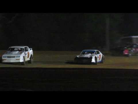 Plumerville Super Speedway Factory Stock Heat Race 4--7-17