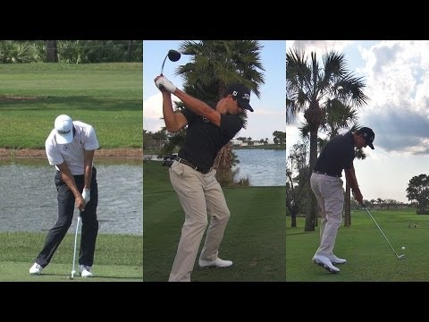 ADAM SCOTT - 2014 SWING FOOTAGE PGA NATIONAL GOLF COURSE REG & SLOW MOTION 1080p HD