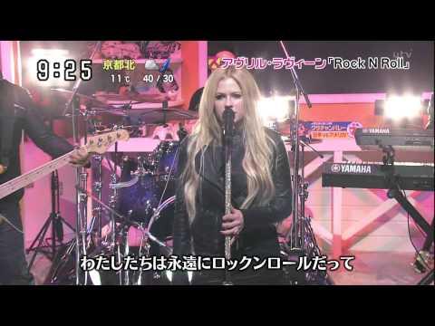Avril Lavigne - Rock N Roll @ Japanese TV show 19/11/2013 - HD