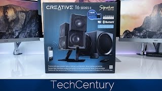 Creative T6 Series II Unboxing & First Look