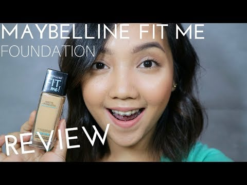 MAYBELLINE FIT ME FOUNDATION REVIEW (PHILIPPINES)