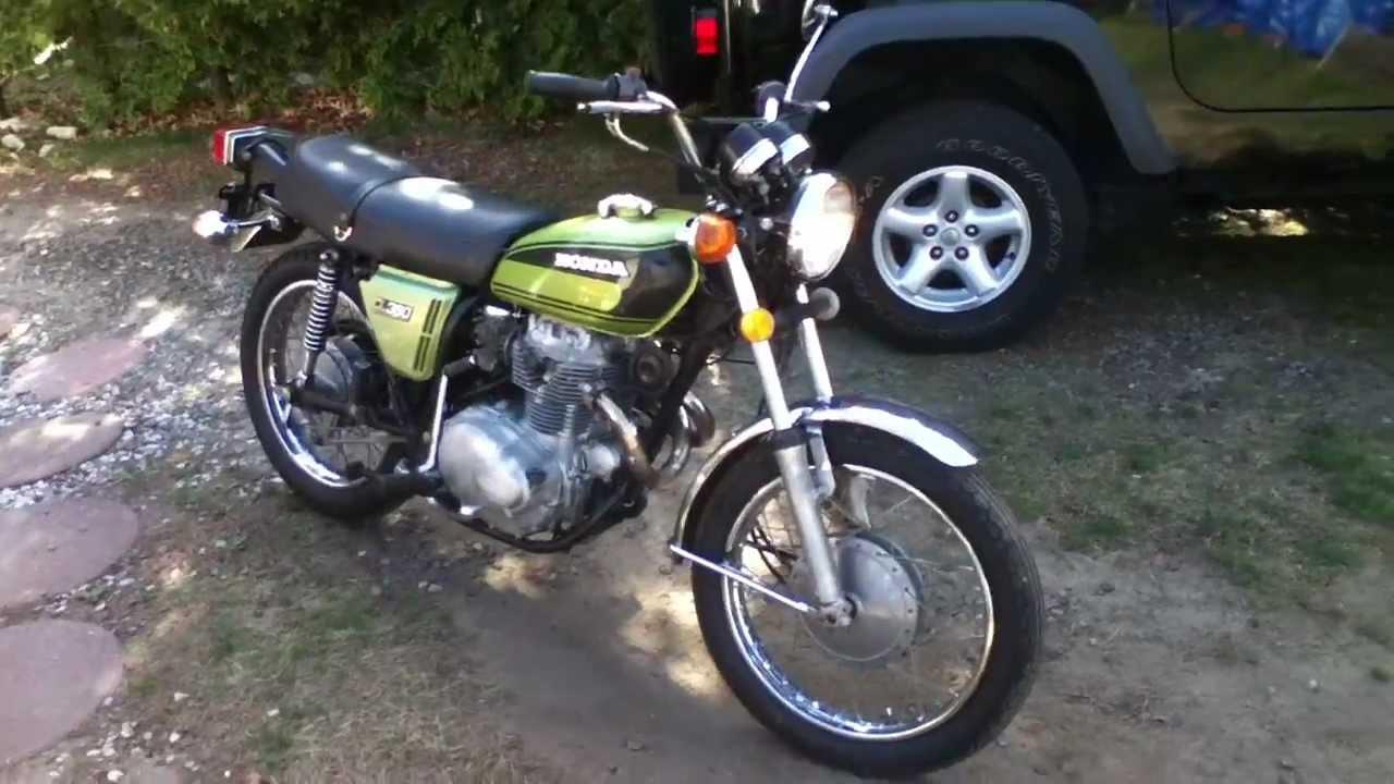 1974 Honda CL 360 Scrambler