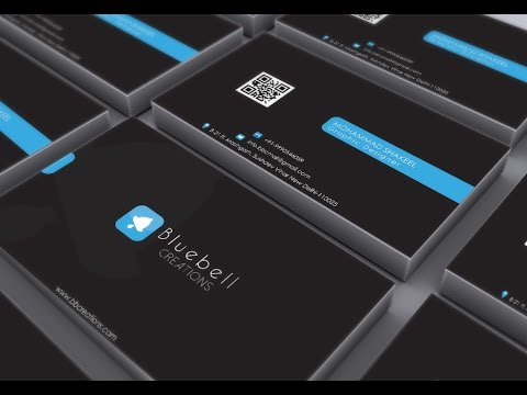 Photoshop mockup tutorial how to use business card psd mockup youtube photoshop mockup tutorial how to use business card psd mockup reheart Images