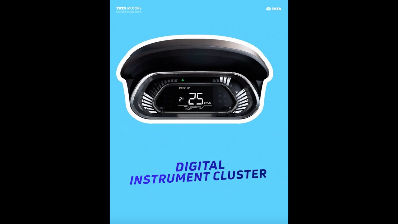 New Tiago l #SeriouslyFun Instrument Cluster