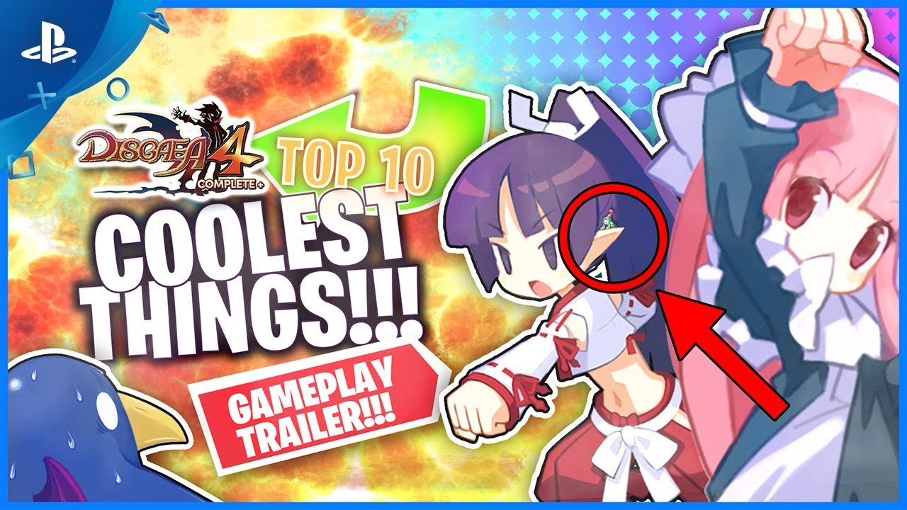 Top 10 Coolest Things in Disgaea 4 Complete+ | PS4
