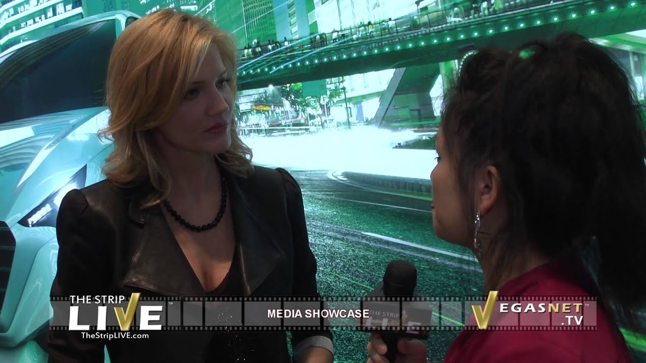 TRICIA HELFER SHOWCASED ON THE STRIP LIVE FOR VEGASNET TV