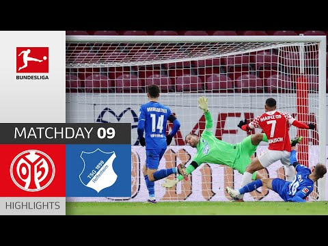 1. FSV Mainz 05 - TSG Hoffenheim | 1-1 | Highlights | Matchday 9 – Bundesliga 2020/21