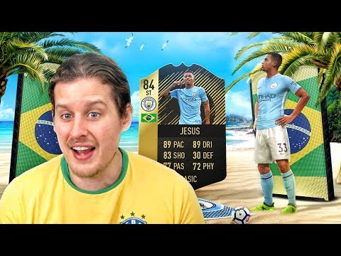 WE FINALLY GOT HIM! INFORM GABRIEL JESUS! THE ICON RONALDO FULL BRAZIL SQUAD! FIFA 18 ULTIMATE TEAM